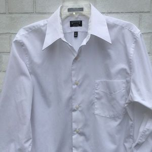 Arrow White Fitted Dress Shirt 15 32/33